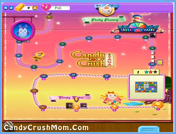 Candy Crush Dreamworld Level 1