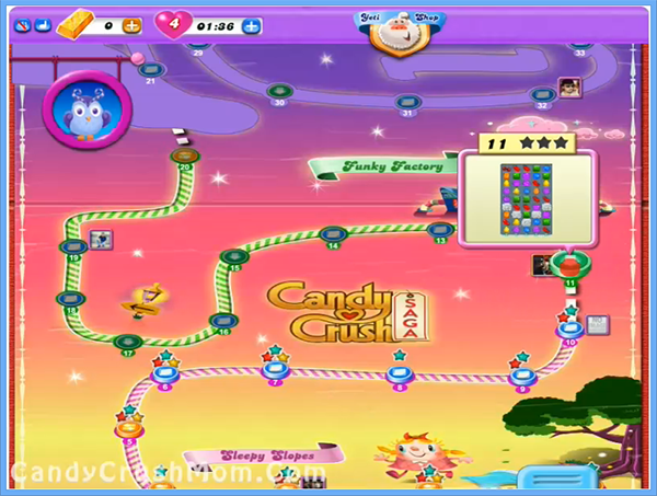 Candy Crush Dreamworld Level 11