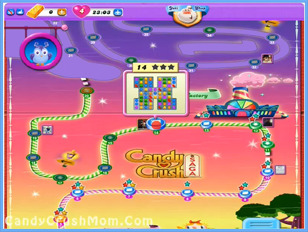 Candy Crush Dreamworld Level 14