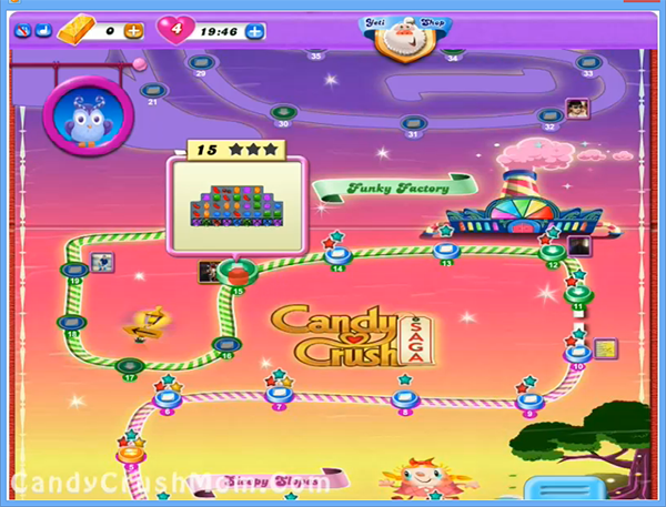Candy Crush Dreamworld Level 15