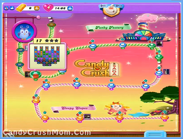 Candy Crush Dreamworld Level 17