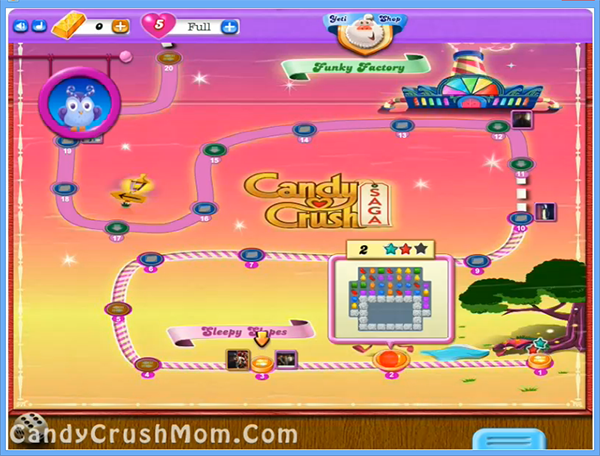 Candy Crush Dreamworld Level 2