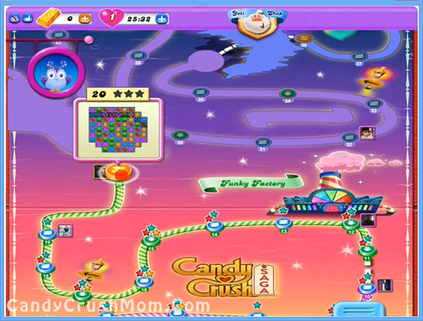 Candy Crush Dreamworld Level 20
