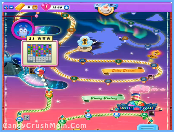 Candy Crush Dreamworld Level 21