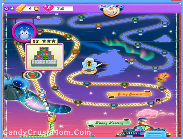 Candy Crush Dreamworld Level 22
