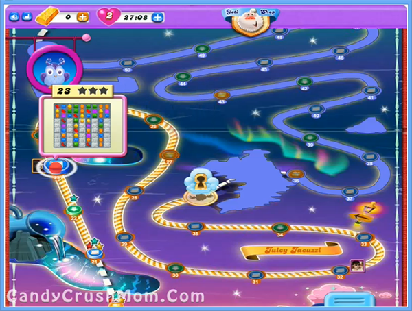 Candy Crush Dreamworld Level 23