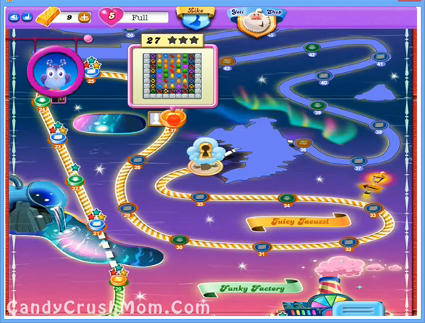 Candy Crush Dreamworld Level 27