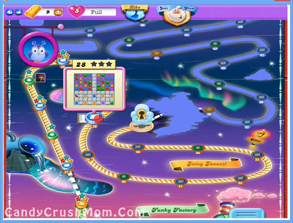 Candy Crush Dreamworld Level 28