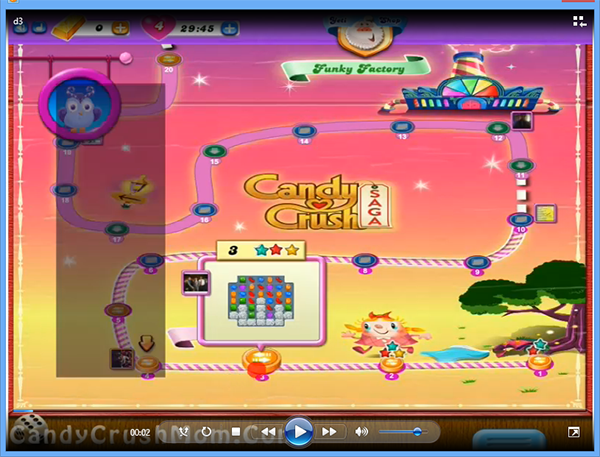 Candy Crush Dreamworld Level 3