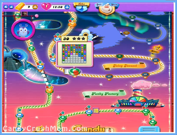 Candy Crush Dreamworld Level 30