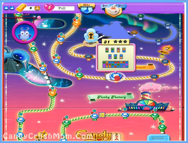 Candy Crush Dreamworld Level 31