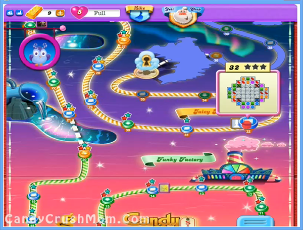 Candy Crush Dreamworld Level 32