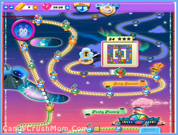 Candy Crush Dreamworld Level 34