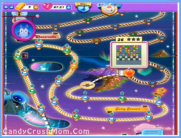 Candy Crush Dreamworld Level 36