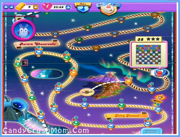 Candy Crush Dreamworld Level 38