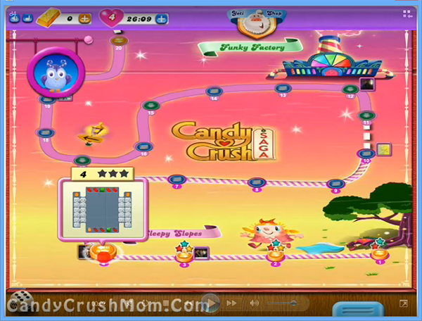 Candy Crush Dreamworld Level 4