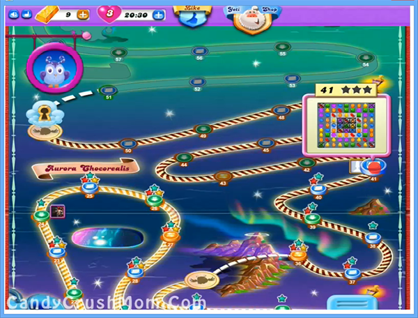 Candy Crush Dreamworld Level 41