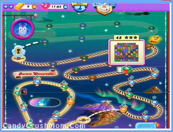 Candy Crush Dreamworld Level 42