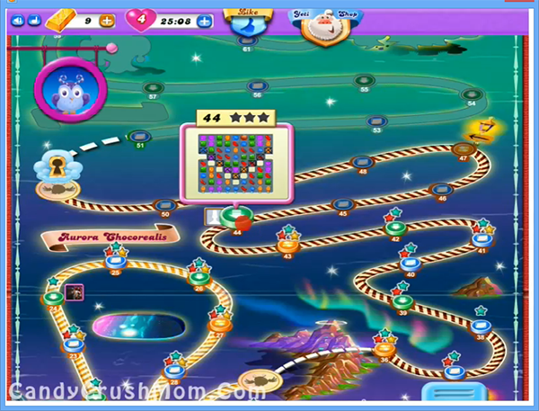 Candy Crush Dreamworld Level 44