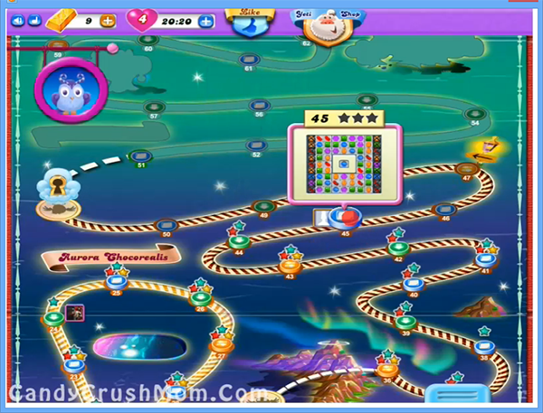 Candy Crush Dreamworld Level 45