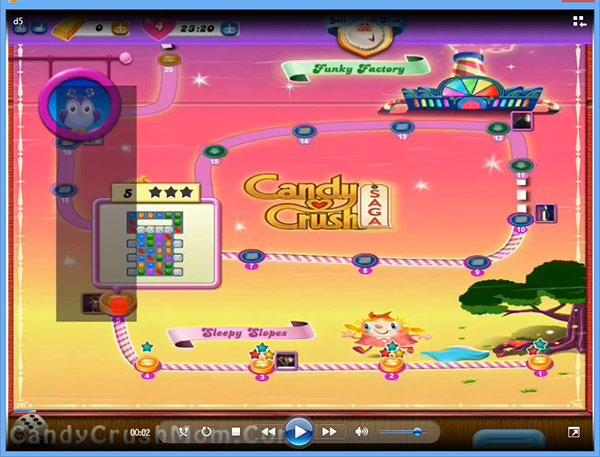 Candy Crush Dreamworld Level 5