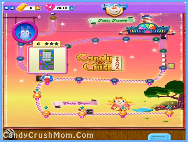 Candy Crush Dreamworld Level 6