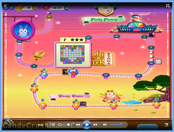 Candy Crush Dreamworld Level 7
