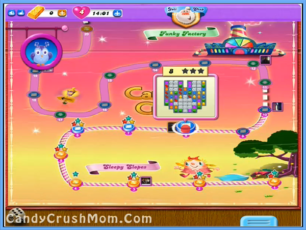Candy Crush Dreamworld Level 8