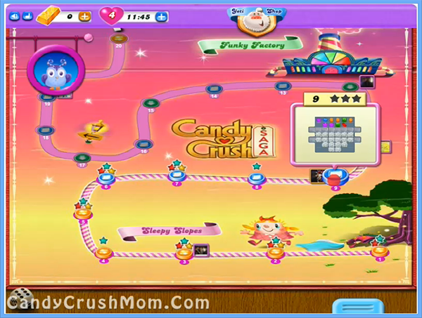 Candy Crush Dreamworld Level 9