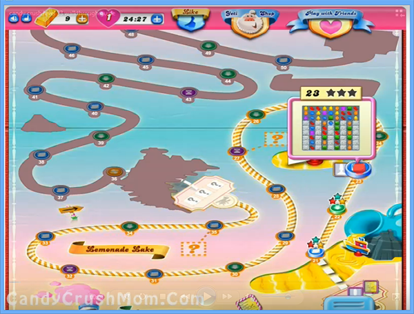 Candy Crush Level 23