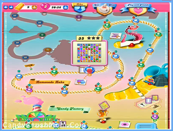 Archive for Candy Crush Lemonade Lake Episode: Level 21 – 35