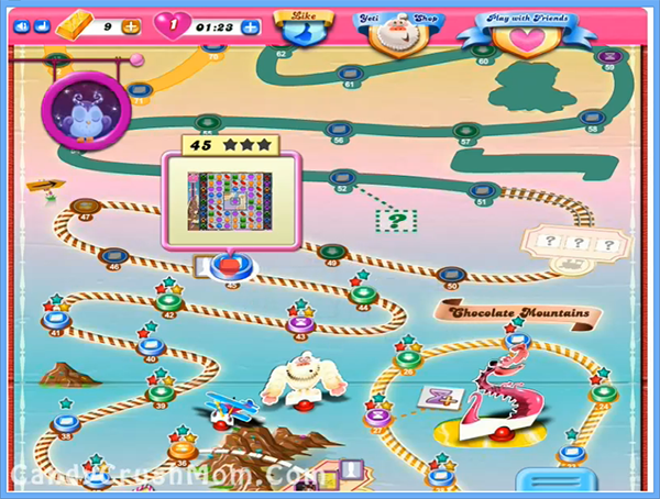 Candy Crush Level 45