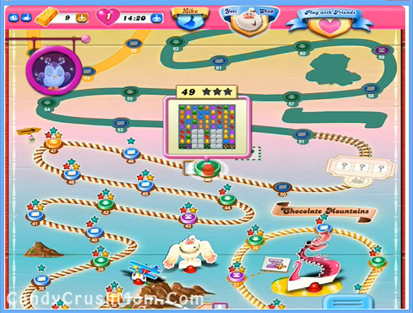 Archive for Candy Crush Chocolate Mountains Episode: Level 36 – 50