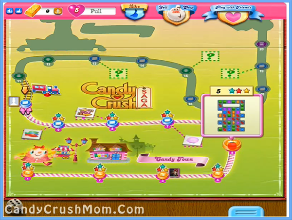 Candy Crush Level 5