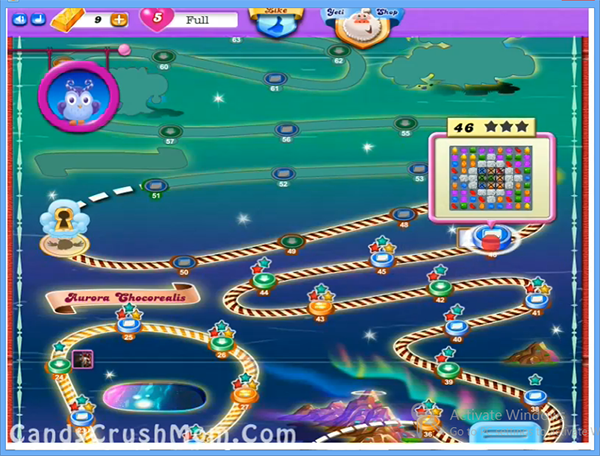 Candy Crush Dreamworld Level 46