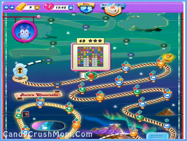Candy Crush Dreamworld Level 49