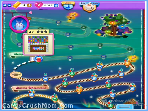 Candy Crush Dreamworld Level 51