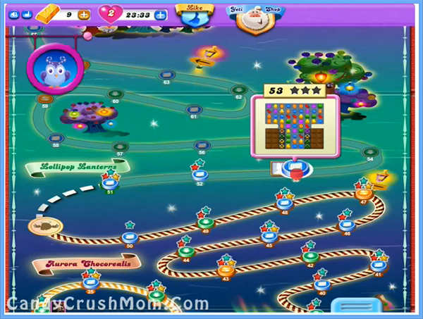 Candy Crush Dreamworld Level 53