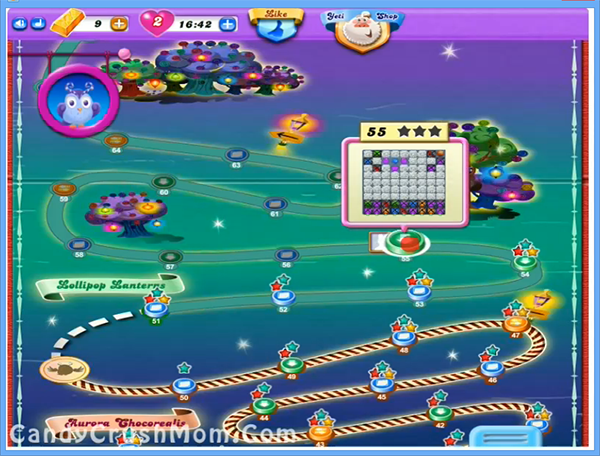 Candy Crush Dreamworld Level 55