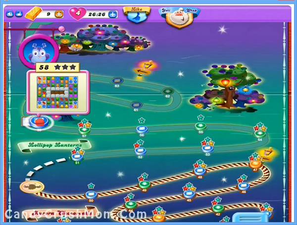 Candy Crush Dreamworld Level 58