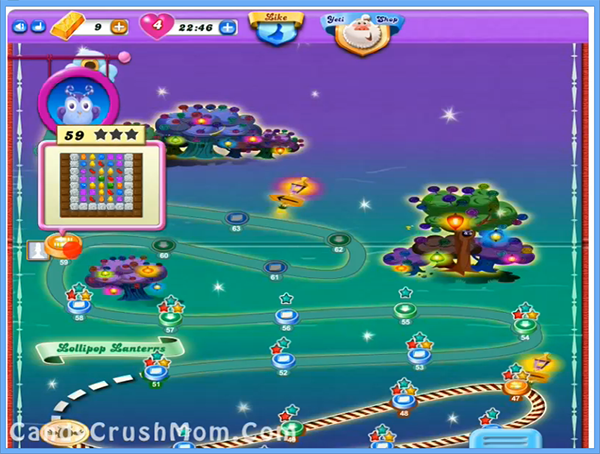 Candy Crush Dreamworld Level 59