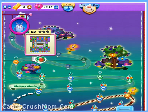 Candy Crush Dreamworld Level 60