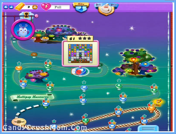 Candy Crush Dreamworld Level 61