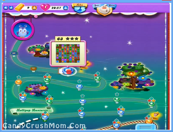 Candy Crush Dreamworld Level 63