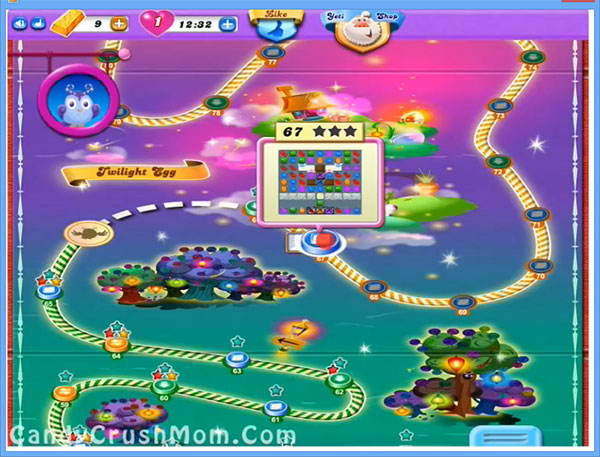 Candy Crush Dreamworld Level 67