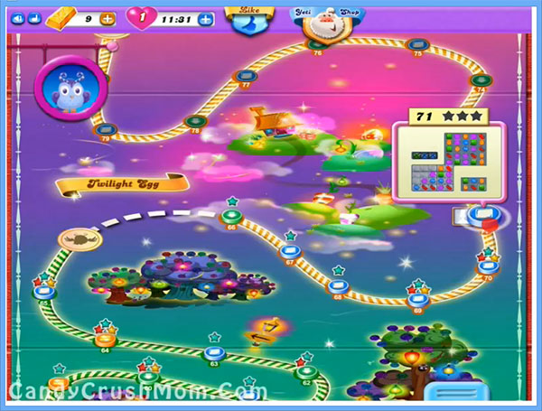 Candy Crush Dreamworld Level 71