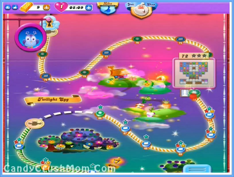 Candy Crush Dreamworld Level 72