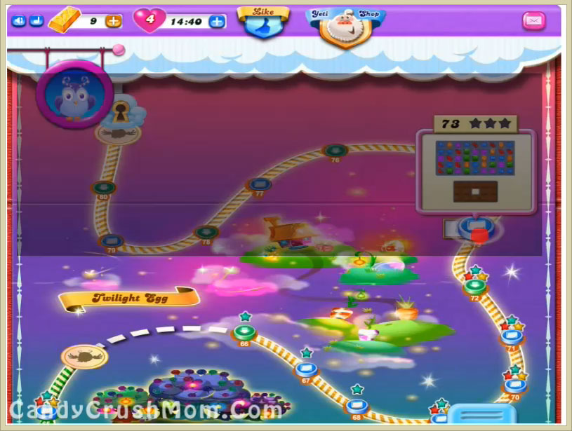 Candy Crush Dreamworld Level 73