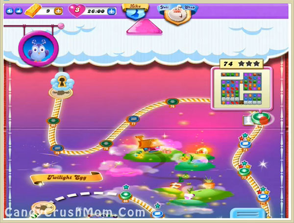 Candy Crush Dreamworld Level 74