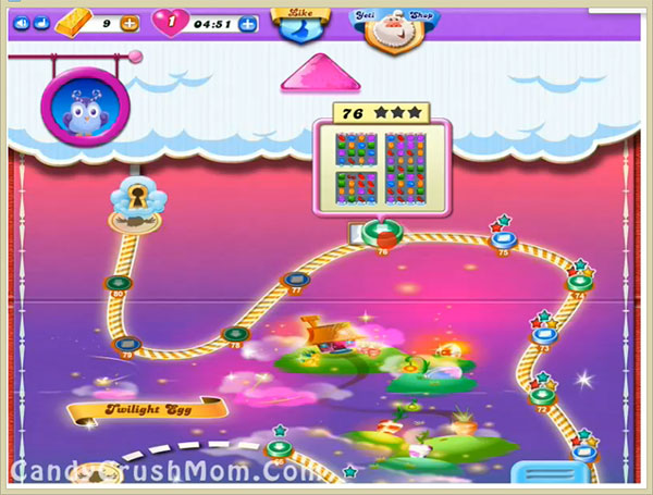Candy Crush Dreamworld Level 76